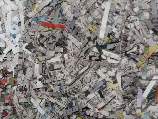 Shredded Newspaper, Good Compost Tumbler Filler