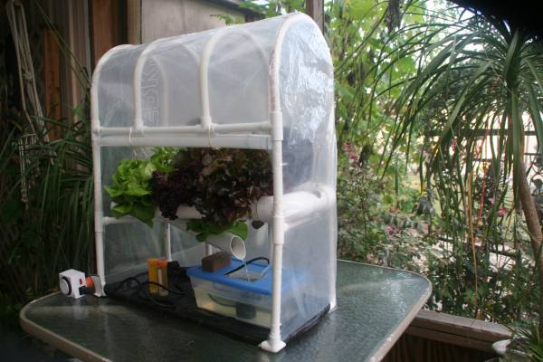 Mini Hydroponic greenhouse