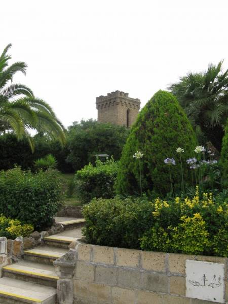 Gardens near Catacombs