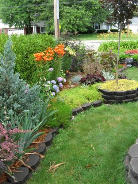 My Front Yard Garden July 2009