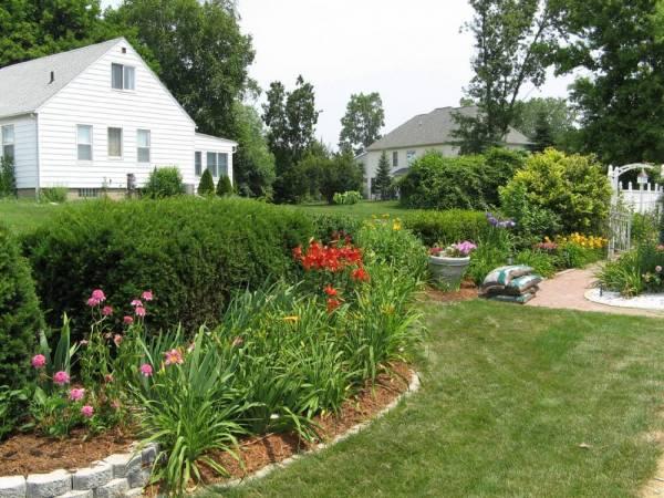 My Side Garden, July 1st 2006
