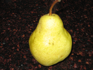 A Ripe and Juicy Pear