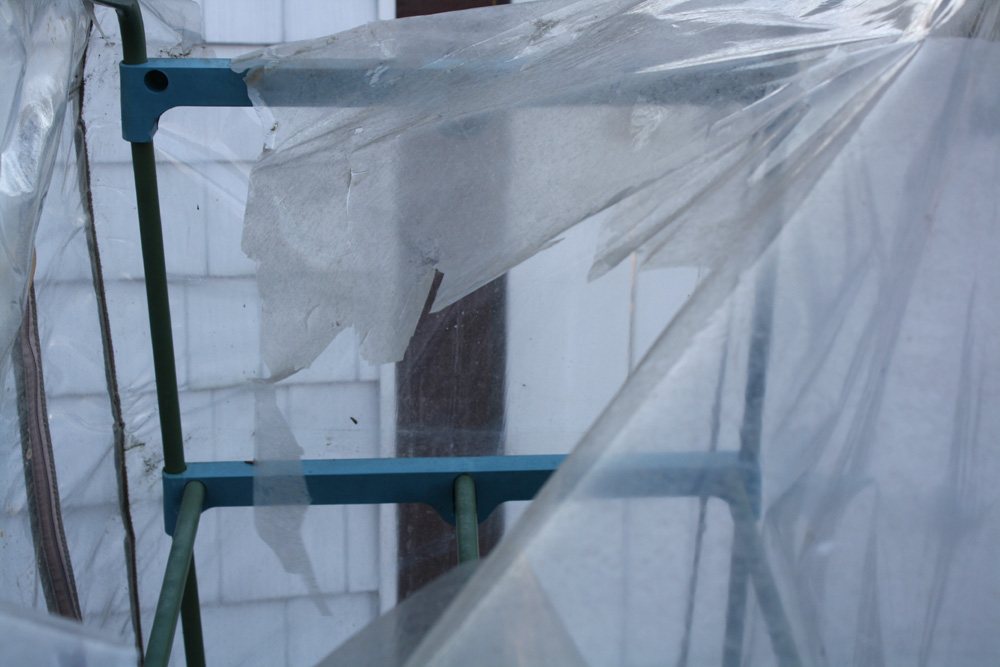plastic greenhouse fail